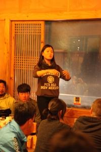 Korean traditional singer